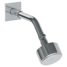 "Wall Mounted Showerhead, 3""dia, With 7 1/2"" Arm and Flange"