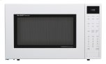 1.5 cu. ft. 900W  White Carousel Convection + Microwave