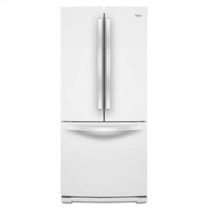 30-inch Wide French Door Refrigerator - 19.7 cu. ft. - WHITE