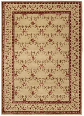 Ashton House As07 Bge Rectangle Rug 5'6'' X 7'5''