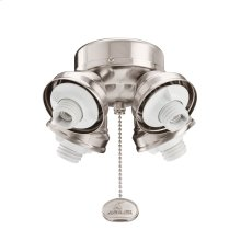 Turtle Fitter 4 Light Burnished Stainless Steel