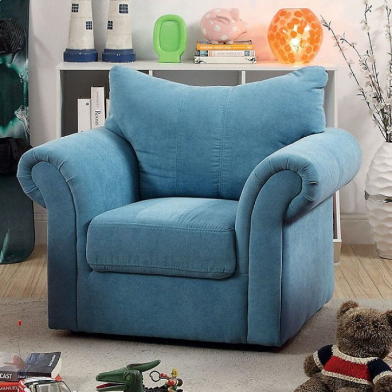 CM6004BL in by Furniture of America in Kulpmont, PA - Irma Kids Chair