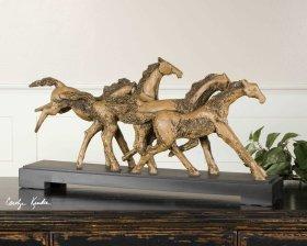 Wild Horses, Sculpture