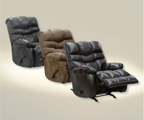 Chaise Rocker Recliner - Steel