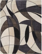 Christopher Guy Wool & Silk Collection Cgs18 Mediterranean Sand Rectangle Rug 6' X 9'