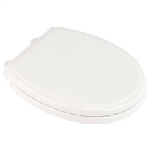 Traditional Round Front Toilet Seat  American Standard - White