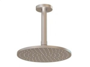 "8"" Shower Rainhead, 4.75"" Ceiling Mount Arm - Brushed Nickel Product Image"