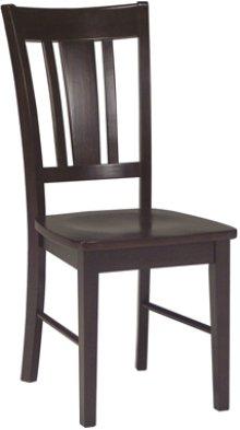 San Remo Chair Rich Mocha