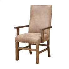 Emerald Home Chambers Creek Arm Chair W/nailhead Fully Upholstered Brown D412-21-05