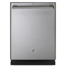Stainless Interior Built-In Dishwasher with Hidden Controls