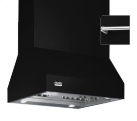"""54"""" Wide Island Hood, Chrome Accessory Rail on front, back and both sides"""