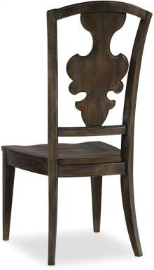 Sanctuary Side Chair-Greige Journey