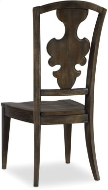 Sanctuary Side Chair-Greige Journey