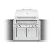 K750 Built-in Hybrid Fire Grill