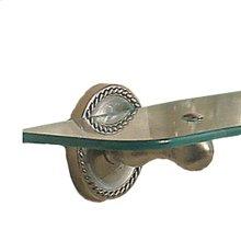 Satin Nickel Toiletry Shelf Brackets