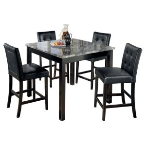 Ashley FurnitureSIGNATURE DESIGN BY ASHLEMaysville Counter Height Dining Room Table and Bar Stools (set of 5)