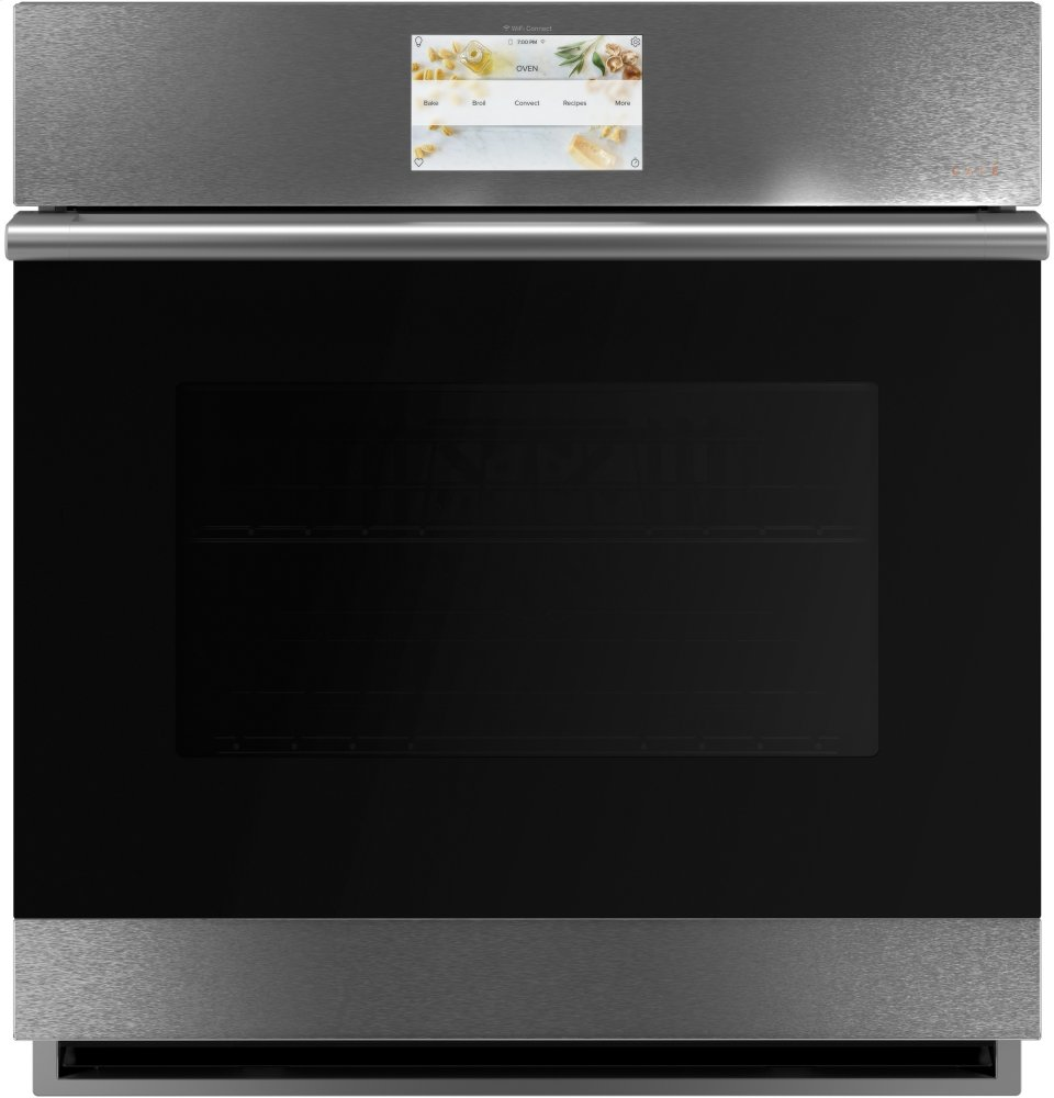 """Cafe Appliances27"""" Smart Single Wall Oven With Convection"""