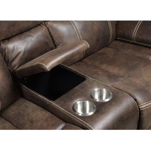 Emerald Home Jessie James Loveseat Chocolate Brown U7130-21-05