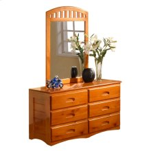 Dresser/Mirror Honey