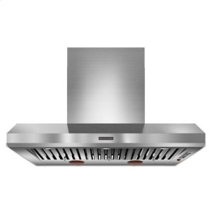 KitchenAidKitchenAid® 48'' Wall-Mount 600-1200 CFM Canopy Hood, Commercial-Style - Stainless Steel