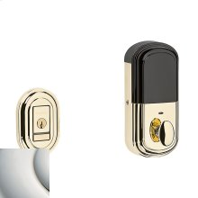 Polished Nickel with Lifetime Finish Evolved Traditional Deadbolt