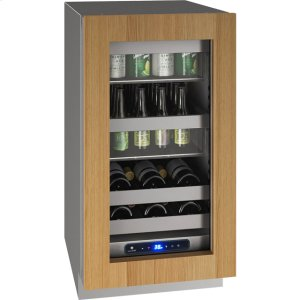 """U-Line 5 Class 18"""" Beverage Center With Integrated Frame Finish And Field Reversible Door Swing (115 Volts / 60 Hz)"""