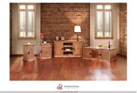 3 Shelves, 2 Doors w/1 inside shelf sofa Table