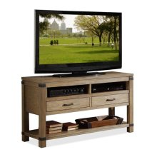 Bay Cliff Console Table Cove Driftwood finish