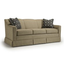 Emeline Collection S91 Stationary Sofa With Skirt