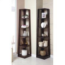 5-tier Book Shelf, Walnut