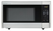 Sharp Carousel Countertop Microwave Oven 1.1 cu. ft. 1000W Stainless Steel (R-331ZS)