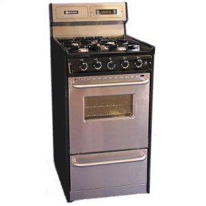 "Brown20"" Free Standing Gas Range"