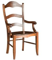 Bethany Arm Chair w/ Wood Seat