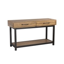 Salvage Pier & Beam Console Table
