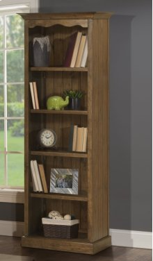 Tuscan Retreat® Small Bookcase K/d - Ctn A - Antique Pine