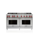 "60"" Gas Range - 6 Burners and Infrared Dual Griddle Product Image"