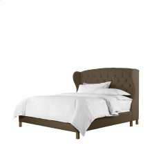 Meredian Wing King Bed With Frame