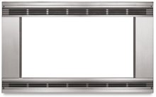 """Microwave Oven Trim Kit Anti-Tip Brackets 24"""" Use With Microwave Oven KCMS1555S Architect® Series II(Black)"""