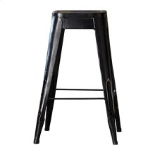 "29"" Metal Stool, Black"