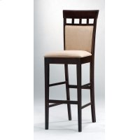 Gabriel Cappuccino Exposed Wood Bar Stool Product Image