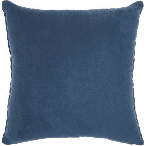 "Life Styles Et299 Blue 18"" X 18"" Throw Pillow"
