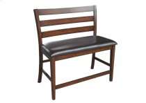 Kona Ladder Back Counter Height Bench Product Image
