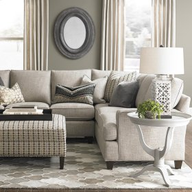 Custom Upholstery Medium L-Shaped Sectional