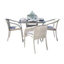 Santorini 5 PC Dining Set