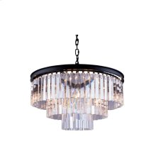 1201 Sydney Collection Pendent Lamp Mocha Brown Finish