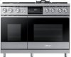 "48"" Pro Dual-Fuel Steam Range, Stainless Steel, Natural Gas"