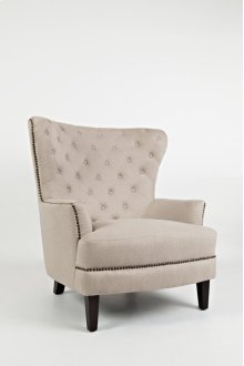 Conner Wingback Accent Chair- Easy Living Taupe