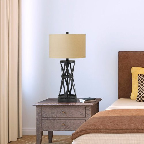 150W 3Way Passo Iron Table Lamp