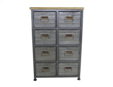 Emerald Home Ac410-08 Grant Accent Cabinet, Aged Metal