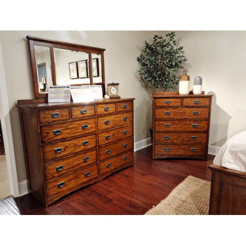 Bedroom - Oak Park 12 Drawer Dresser